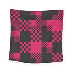 Cube Square Block Shape Creative Square Tapestry (small)