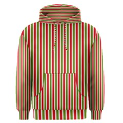 Pattern Background Red White Green Men s Pullover Hoodie