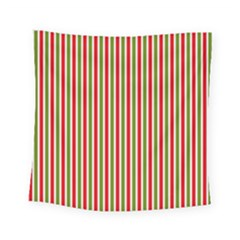 Pattern Background Red White Green Square Tapestry (small)