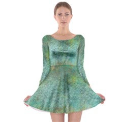 Rainforest Long Sleeve Skater Dress