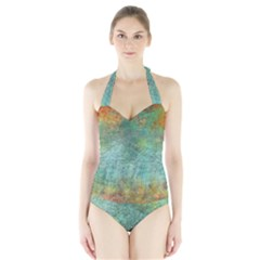 Rainforest Halter Swimsuit