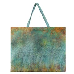 Rainforest Zipper Large Tote Bag