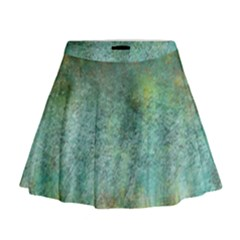 Rainforest Mini Flare Skirt
