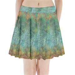 Rainforest Pleated Mini Skirt