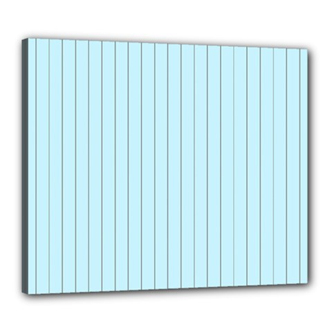 Stripes Striped Turquoise Canvas 24  X 20