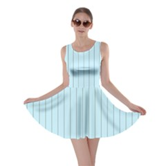 Stripes Striped Turquoise Skater Dress