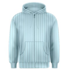 Stripes Striped Turquoise Men s Zipper Hoodie