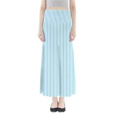 Stripes Striped Turquoise Maxi Skirts