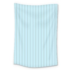 Stripes Striped Turquoise Large Tapestry