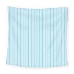 Stripes Striped Turquoise Square Tapestry (large)