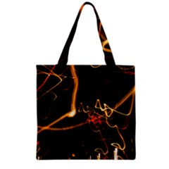 Abstract Grocery Tote Bag
