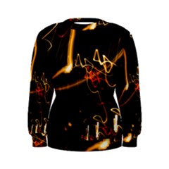 Abstract Women s Sweatshirt