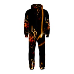 Abstract Hooded Jumpsuit (kids)