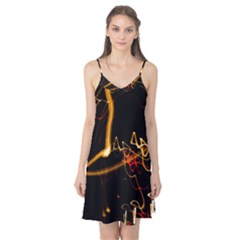 Abstract Camis Nightgown