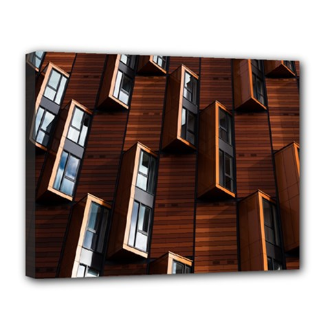Abstract Architecture Building Business Canvas 14  X 11