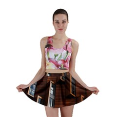 Abstract Architecture Building Business Mini Skirt