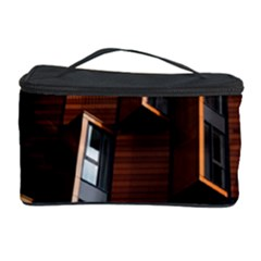 Abstract Architecture Building Business Cosmetic Storage Case