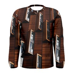 Abstract Architecture Building Business Men s Long Sleeve Tee