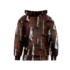 Abstract Architecture Building Business Kids  Pullover Hoodie