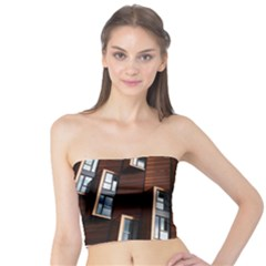 Abstract Architecture Building Business Tube Top