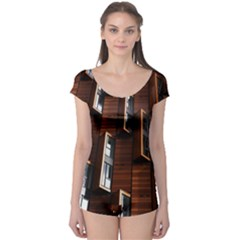 Abstract Architecture Building Business Boyleg Leotard
