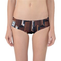 Abstract Architecture Building Business Classic Bikini Bottoms