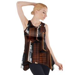 Abstract Architecture Building Business Side Drop Tank Tunic