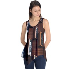 Abstract Architecture Building Business Sleeveless Tunic