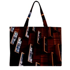 Abstract Architecture Building Business Medium Tote Bag