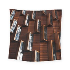 Abstract Architecture Building Business Square Tapestry (small)