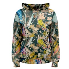 Art Graffiti Abstract Vintage Lines Women s Pullover Hoodie