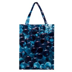 Blue Abstract Balls Spheres Classic Tote Bag