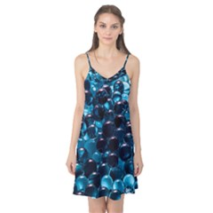 Blue Abstract Balls Spheres Camis Nightgown