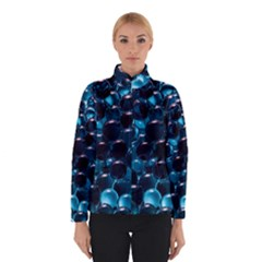 Blue Abstract Balls Spheres Winterwear