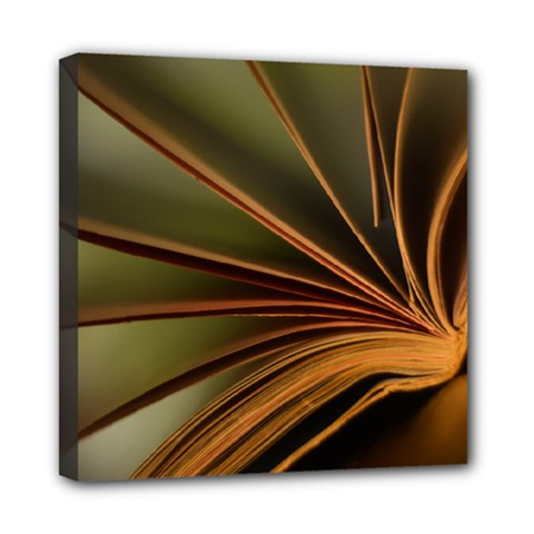 Book Screen Climate Mood Range Mini Canvas 8  X 8
