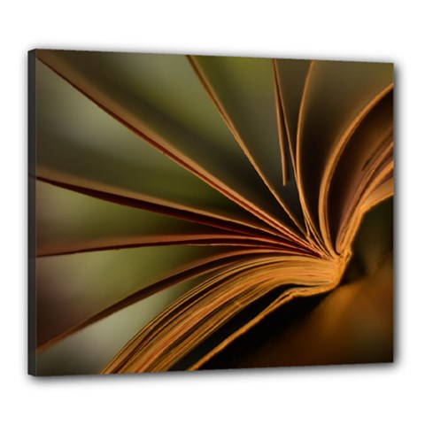 Book Screen Climate Mood Range Canvas 24  X 20