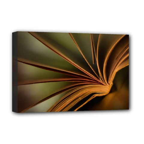 Book Screen Climate Mood Range Deluxe Canvas 18  X 12
