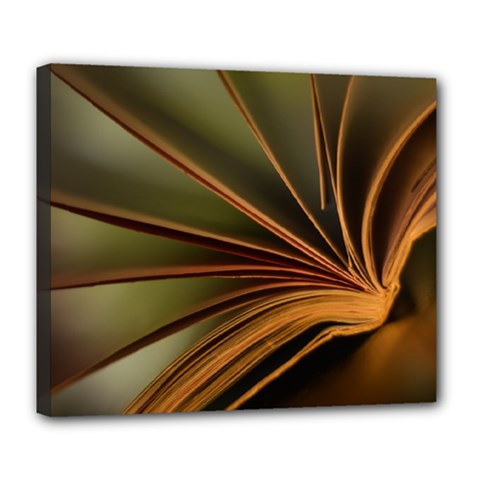 Book Screen Climate Mood Range Deluxe Canvas 24  X 20