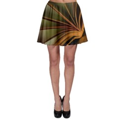 Book Screen Climate Mood Range Skater Skirt