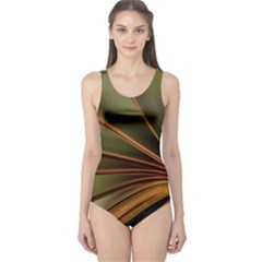Book Screen Climate Mood Range One Piece Swimsuit