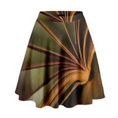 Book Screen Climate Mood Range High Waist Skirt