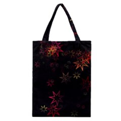 Christmas Background Motif Star Classic Tote Bag