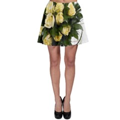 Bouquet Flowers Roses Decoration Skater Skirt