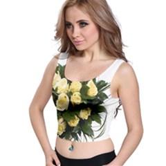 Bouquet Flowers Roses Decoration Crop Top
