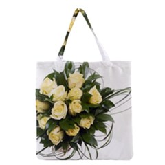 Bouquet Flowers Roses Decoration Grocery Tote Bag