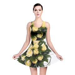 Bouquet Flowers Roses Decoration Reversible Skater Dress