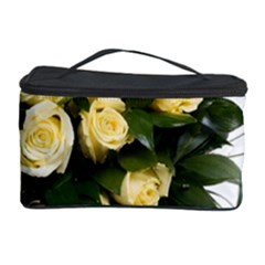 Bouquet Flowers Roses Decoration Cosmetic Storage Case