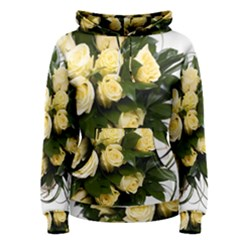 Bouquet Flowers Roses Decoration Women s Pullover Hoodie