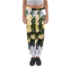 Bouquet Flowers Roses Decoration Women s Jogger Sweatpants