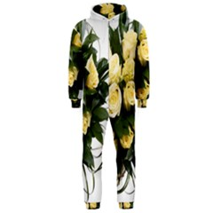 Bouquet Flowers Roses Decoration Hooded Jumpsuit (men)